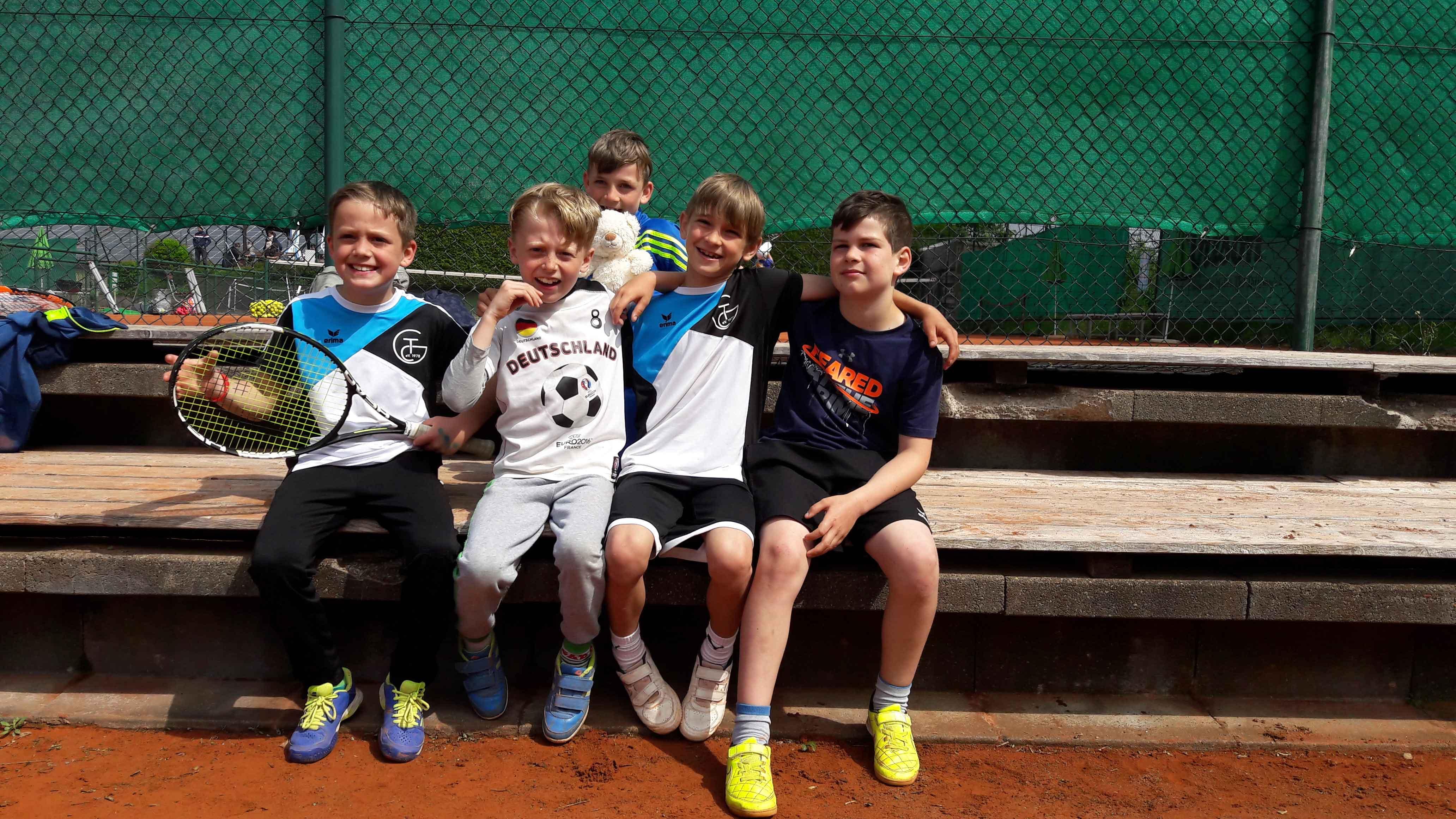 TC-Gernlinden Midcourt Mannschaft